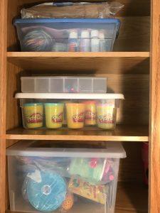 Organize Kids Craft Supplies